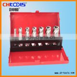HSS broach cutter with weldon shank or universal shank set