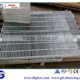 Professionally manufacture galvanized steel grating with 6mm cross bar
