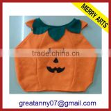 Fairy Cute Pumpkin Design Boys Cosplay Costumes for Halloween Party Show