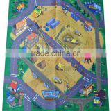 The Train Wooden Railway Island of Sodor Felt Playmat