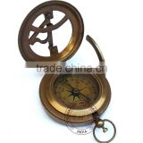 SUNDIAL - SUNDIAL COMPASS - ANTIQUE SUNDIAL - ANTIQUE SUNDIAL COMPASS 3""