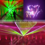 Brand New rgb multi color animation ilda dmx analog modulation laser 6w rgb / laser 5w rgb