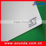 Free sample good quality Glossy white black Printed PVC Blockout Flex Banner