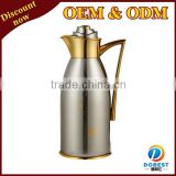 1.9 L wholesale high grade double wall flask/vacuum flask inner glass/glass lined thermos bottle TP021