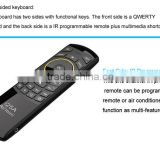 DIHAO i25A 2.4G IR TV remote control/fly air mouse keyboard/bluetooth air fly mouse