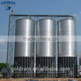 Assembly flat bottom corrugated grain soybean silos binsilos bin