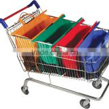 2016Hot sale oxford vegetable shopping trolley bag,folding europe tote shopping bag Grocery Trolley Bag Cart Shopping Bags