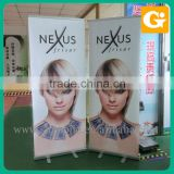 Roll up stand banner produce