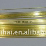 Brass EDM Electrode Tube Single Hole 0.5mm