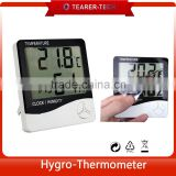 2016 Digital 3 in 1 Thermometer Hygrometer Clock Alarm Accurate Thermo-Hygro meter TL-503