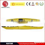 DINGWANG New Rotational Plastic Ocaen Kayak with pedals inside