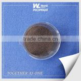 China 40/70 mesh intermediate strength ceramic proppants in shale gas production