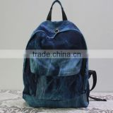 New fashion canvas school backpack weekender bag