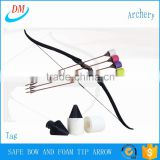 New products foam tip arrow, tag bow for archery larp equipment