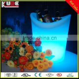Best selling plastic beer cooler/led CE certificate barware/led lighted ice buckets for wine