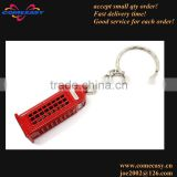 2014 souvenir gifts telephone booth london key chain