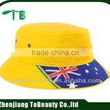 Bright color Bucket hat with UK flag