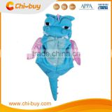 Blue Cute Dogs Cat Transformed Dinosaur pretty Costumes Clothes, Transformed the dinosaur outfit