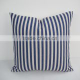 Throw decorative office chair and car seat back support cushion custom stripe design digital print pillow cover
