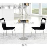 Wood chair Round table Cafe furniture Modern dinning table and chairs on sale CA175