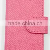 Mat Grain PU Leather Phone case for iphone 6 with Card Slots , Strap Holder and the Magnet Cover