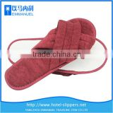 Red wine cheap japan bedroom foot massage slipper