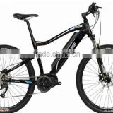 350w 26 inch removalbe lithium battery mountain electric bicycle with 8FUN central motor bosch shape ( HJ-M21 )