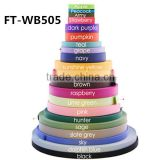 New Popular Colorful Nylon Webbing Strap, Nylon Colorful Ribbon, Use To make Pet Collar FT-WB505