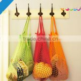 Encai New Product Kid's Beach Toy Storage Mesh Bag Wholesale Cotton Shopping Mesh Bag On Supermarket