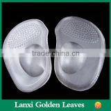 Transparent forefoot pad for lady shoes footcare product Adhesive shoe pads ,Arch support insoles