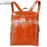 Backpack flat purse, unisex (Big ) handbags italian bags genuine leather florence leather fashion