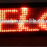 alibaba express electronic plastic magnetic rechargable and usb rechargeable flashing led name badge display display