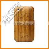 Bamboo Cell phone case for iPhone 4S Best price real wood phone case/for wood iphone 6 cover/bamboo mobile phone case