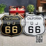 The hotel door Aluminum sign car number license logo print motel use decoration fast delivery