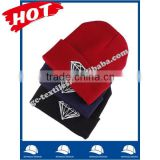 100% acrylic soft ladies beanie hat and cap with stone embroidery logo on cuff wholesale factory alibaba china