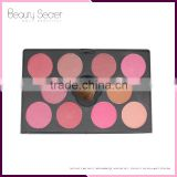 New products No Logo cosmetic wholesale cosmetic packaging blush palette 10 color makeup