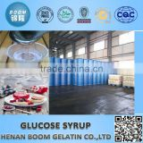 Top quality of 10years manufacturer good taste liquid glucose cheap, halal chief glucose syrup