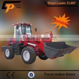 Dependable Hytec ZL20F shovel loader with standard bucket