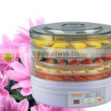 High efficiency Different kinds of Fruit /Food Dehydrator With Timer and Fan