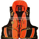 Certificate professional lifejacket with whistle lifejacket for outdoor water activities