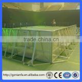 Used aluminum traffic crowd control stage concert barrier/traffic barrier(Guangzhou Factory)