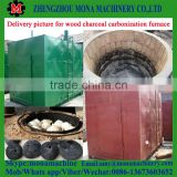 good working bamboo /Coconut shell charcoal carbonization stove/furnace and wood sawdust machine