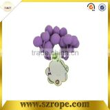 2014 purple decorative pompons,gift pompons