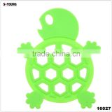 16027 tortoise shape silicone high temperature heat insulation mat kitchenwares silicone mat flexible silicone heating mat