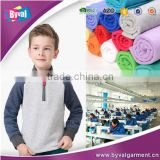 China Factory OEM 100%Cotton 280G Pockets Drawstring Pullover Half Zip Pink Custom Men Blank Hoodies Wholesale