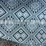 Stock Fabric Wholesale Yarn dyed TC Jacquard Style Cheap Price for Sofa ZH8006