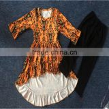 wholesale girls frocks designs latest Children's fall boutique clothing halloween dress
