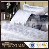 Hotel bed linen set jacquard weave duvet cover sets 100% cotton can be customized for high quality duvet cover set PX-DC3