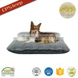 Corduroy fabric cheap pet beds for large dogs