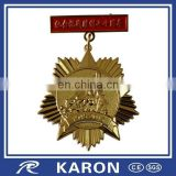top quality custom commemorative lapel pin in brass